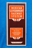 National Railways of Mexico Time Table - March 21, 1938