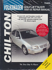 1999-2005 VW Golf GTI Jetta Chilton Repair Service Workshop Manual Book 7187