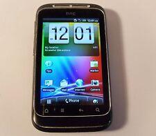 HTC Wildfire S schwarz (entsperrt) Smartphone Handy