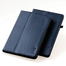 """Cubierta para Samsung Galaxy Tab S2 9,7"""""""" Cuero Funda Protectora Smart Case Azul"""
