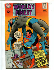 WORLD'S FINEST #180 SUPERMAN'S PERFECT CRIME! (6.5) NEAL ADAMS COVER! 1968