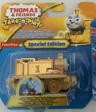 Fisher Price Thomas & Friends Take-n-play Gold Thomas Special Edition