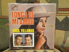HNOS (Hermanos) VILLAMAR - Longa De Mi Amor - ORION 12-25093  SEALED LP  Ecuador