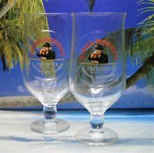More details for  birra moretti pint glasses x 2  20oz brand new 100% genuine