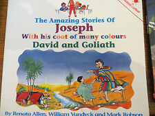 The Amazing Stories of Joseph/David & Goliath  by Renata Allen PB 1995 OOP