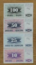 # 10 - 100 Dinara Bosnia-Herzeovina  * UNC *