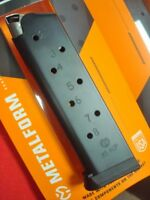 2 Colt compatible 1911 .45 acp  8 rd New blue steel magazines Government Model