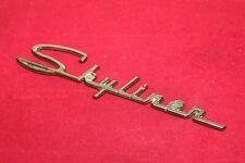 GENUINE 1957 Ford Fairlane Skyliner Gold Badge Emblems B7A-5150399-A
