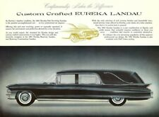 1962 Cadillac EUREKA Landau Hearse Ad, BLACK, Refrigerator Magnet, 40 MIL