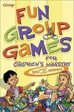 Fun Group Games for Childrens Ministry