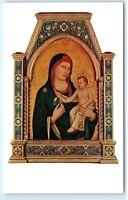 Washington DC National Gallery of Art Madonna and Child Vintage Postcard B27