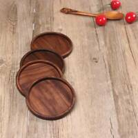 Wooden Heat Insulation Tea Coasters Cup Holder Mat Pad Coffee Drinks Placemat 1x