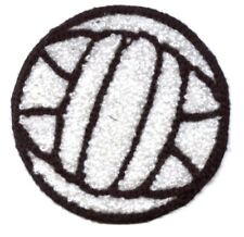 Chenille Volleyball - Sports/Balls/Gym - Iron on Applique/Embroidered Patch