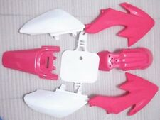 Pink Plastics Body Kit Fender Faring for HONDA CRF XR 50 CRF50 SSR PIT Dirt BIKE