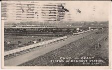 Camp Grant Section of Remount Station Rockford IL Illinois Postcard
