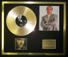PHIL COLLINS  PHOTO / PIC CD GOLD DISC RECORD FREE P+P