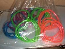 24 Glitter Heart Bracelet Birthday Party Carnival Favor