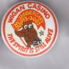 WIGAN CASINO The Spirit Is Still Alive BUTTON BADGE - NORTHERN SOUL CLUB 25mm