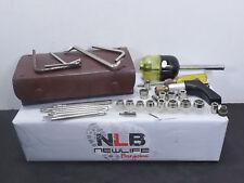 Vintage Tool Set Leather Case