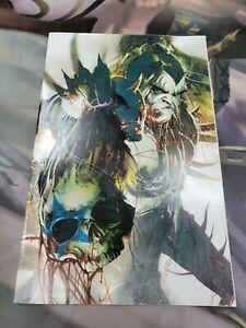 KISS ZOMBIES Comic Issue #5 Limited Edition Cover by SAYGER