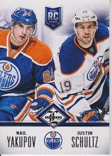 2012-13 Limited Rookie Redemption Oilers #11 Yakupov/Schultz /499