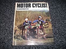 VINTAGE MOTOR CYCLIST ILLUSTRATED MAGAZINE - April 1970