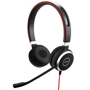 Jabra Evolve 40 Stereo Schwarz Kopfbügel Headset