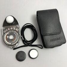 Sekonic Studio Deluxe II L-398M Light Meter + Case