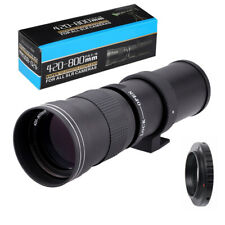 420-800mm F/8.3-16 Telephoto Lens for Nikon D3000 D3100 D3200 D3300 D3400 D5100