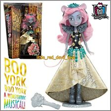 New Monster High MOUSECEDES KING Deluxe Doll 2015 Gala Ghoulfriends Boo York