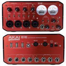 AKAI EIE interfaccia scheda audio midi usb 1.1 + hub dj producer studio