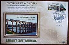 2012 Limited Edition Benham  Railway Bridge Cover - Royal Border Bridge Bewrwick
