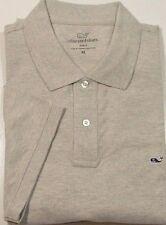 NWT Vineyard Vines Men's Slim Fit Pique Polo Shirt Gray Heather 50% OFF! XLARGE