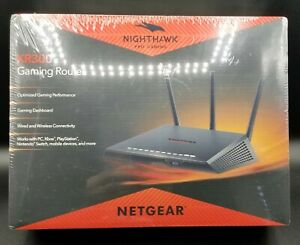 Netgear XR300 Nighthawk Pro Gaming Router Wired & WiFi Connectivity Black *New*