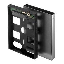 "External Drive Case 2.5"" SATA HDD Hard Disk Aluminum Enclosure USB w/ Bag Frisby"