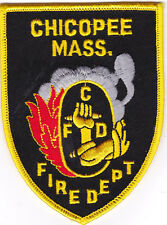 Chicopee MA Fire Dept. Firefighter Patch NEW!!