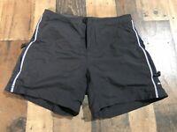 REI -Womens - Cycling Mountain Biking-  Black Zip Pockets - Padded Shorts - Sz M