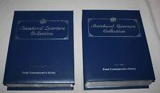 Postal Commemorative Society Statehood Quarters Complete Vols 1 2 DC Territories