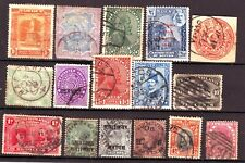 OLD WORLD * POSTAGE BOB  == 16 ==  FOREIGN  USED  &  UNSORTED
