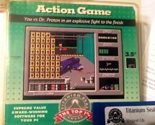 "Action Game Shrapnel City Vintage PC Game w/ 3.5"" Disk!Duke Nukum CLASSIC!"