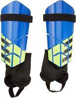 adidas 240396 Unisex Adult Club Shin Guard Soccer Blue/Black Size Small