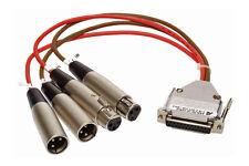 Antex LX-22M SC22 LX22 SC-22 Sound Card Analog Audio Breakout Cable Balanced XLR