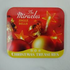 The Miracles CD and Tin Jingle Bells Christmas Treasures
