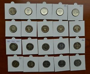1983 - 2017 Bright Uncirculated or Proof One Pound Coins - Choose Year
