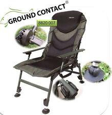 Jenzi Karpfenstuhl Ground Contact Comfort Chair with Armrest