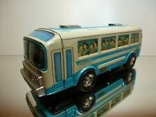 ICHIKO 6 JAPAN AUTOBUS TOURINGCAR - BLUE + WHITE L26.0cm VERY RARE - FRICTION
