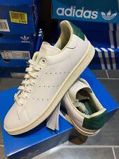 Adidas OG Stan Smith UK 9 43 Green Sq Heel Premium Edition Classic Tennis EE5789