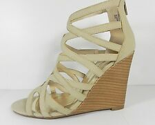 NIB BAMBOO WEDGE SHOES ROYCE-02  SIZE 10