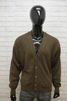 Lee Uomo Cardigan Taglia 2XL Maglione in Lana Pullover Sweater Man Felpa