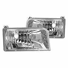 NEWMAR KOUNTRY STAR 1999 2000 2001 DIAMOND PAIR HEAD LIGHTS LAMPS RV HEADLIGHTS
